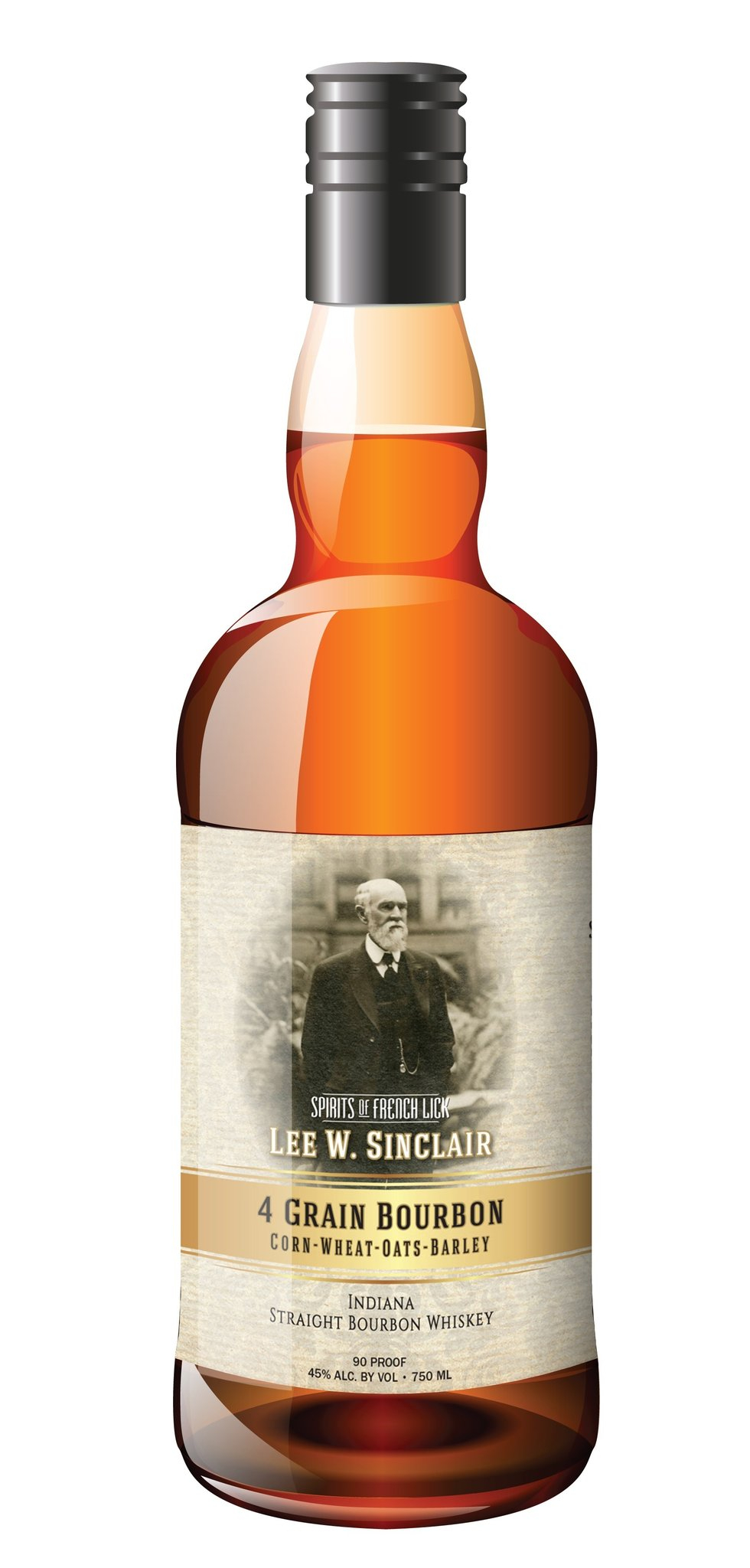 Spirits of French Lick Sinclair Bottled in Bond