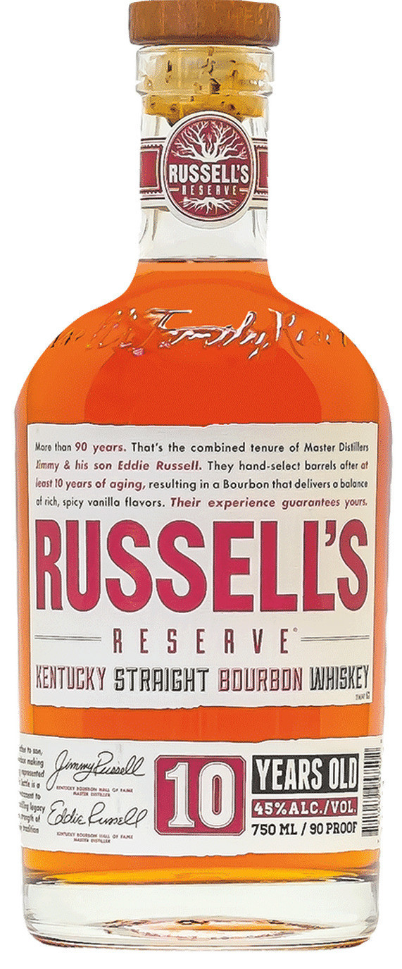Russell's Reserve 10yr 90 proof