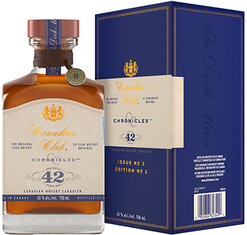 Canadian Club Chronicles 42 Year 90 Proof