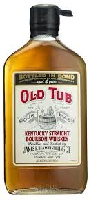 Old Tub Sour Mash 100 Proof Flask